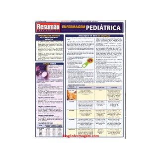 Livro - Resumão Enfermagem Pediátrica