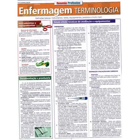 Livro - Resumão Enfermagem Terminologia - Raines