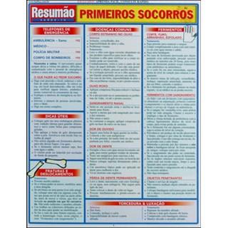 Livro - Resumão Primeiros Socorros - Barros