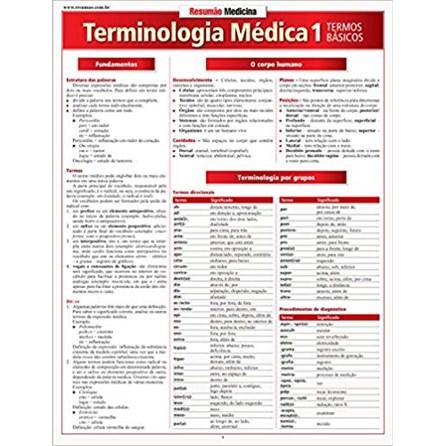 Livro - Resumão Terminologia Médica 1 - Termos Básicos