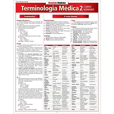 Livro - Resumão Terminologia Médica 2 - Corpo Humano