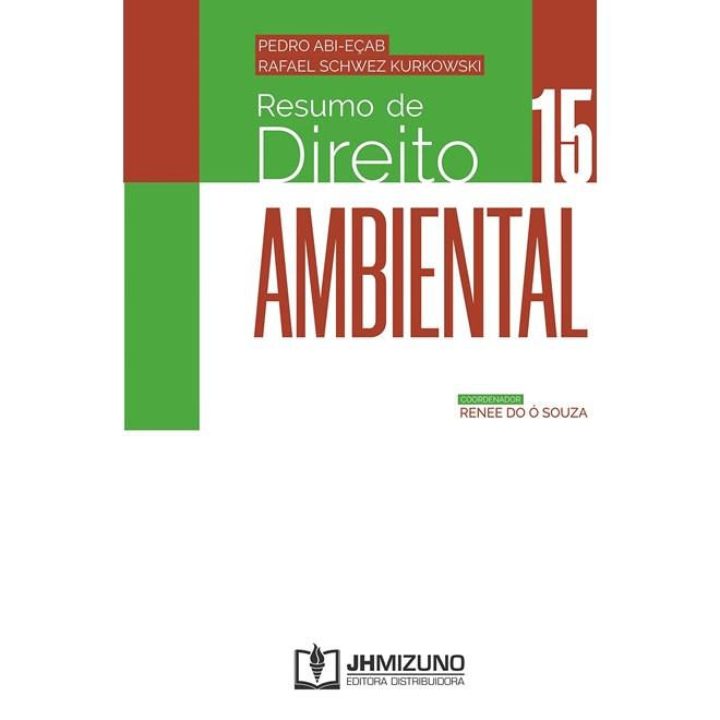 Livro Resumo de Direito Ambiental - Abi-Eçab - Jh Mizuno