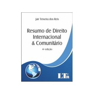 Livro - Resumo de Direito Internacional e Comunitário - Reis