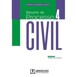 Livro Resumo de Processo Civil - Cunha - Jh Mizuno