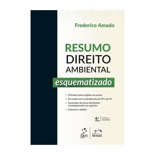 Livro - Resumo Direito Ambiental Esquematizado - amado