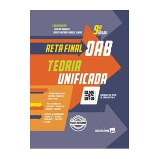 Livro - Reta Final OAB - Teoria Unificada - 9ª Edição 2020 - Barroso 6º edição