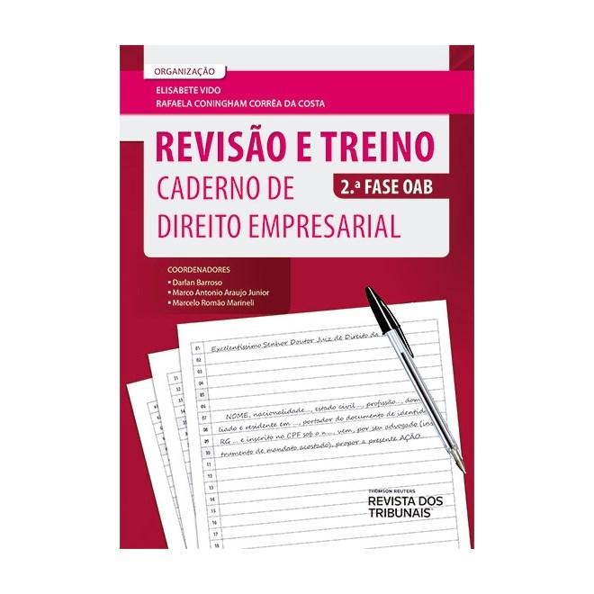 Livro - Revisão e Treino - Caderno de Direito Empresarial - Vido