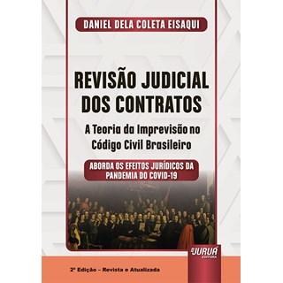 Livro - Revisão Judicial dos Contratos - Eisaqui - Juruá