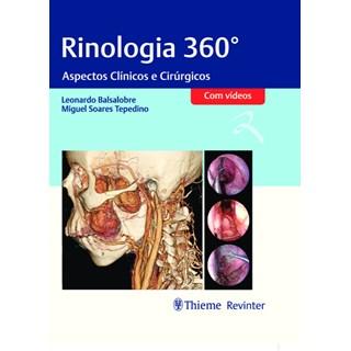 Livro Rinologia 360° - Balsalobre - Revinter