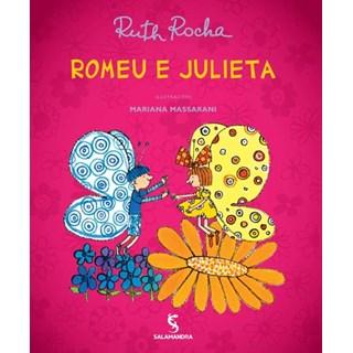 Livro - Romeu e Julieta - Ruth Rocha