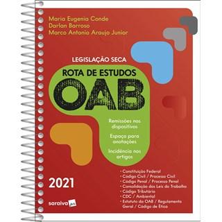 Livro Rota de Estudos OAB - Barroso - Saraiva