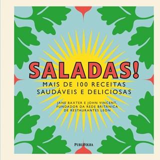Livro Saladas Mais de100 Receitas Saudáveis e Deliciosas - Publifolha