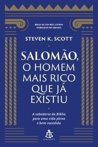 Livro Salomao, o homem mais rico que ja existiu Scott 1º edicao