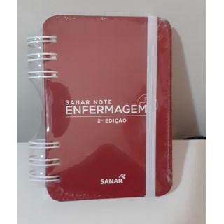 Livro Sanar Note Enfermagem 2ª Edição - Sanar