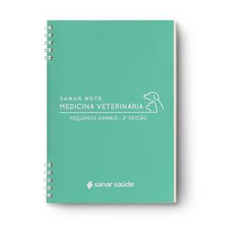 Livro Sanar Note Medicina Veterinária (Pequenos Animais) - Sanar