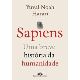 Livro Sapiens - Harari - Companhia das Letras