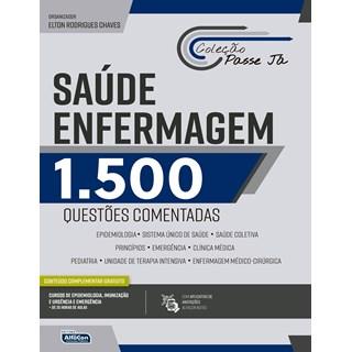 Livro Saúde Enfermagem 1500 Questões Comentadas - Alfacon