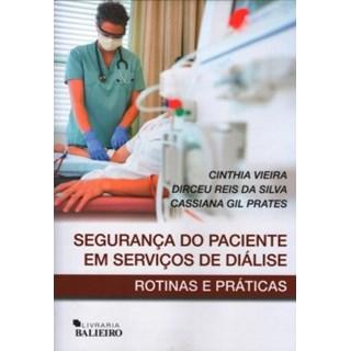 Livro - Segurança do Paciente em Serviços de Diálise - Vieira