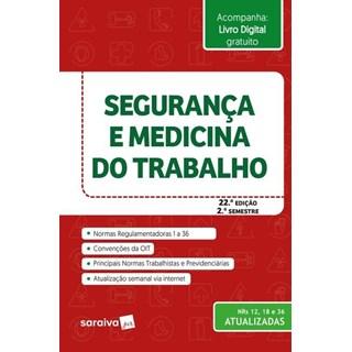 Livro - Segurança e Medicina Do Trabalho - Saraiva