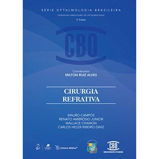 Livro - Série de Oftalmologia Brasileira - Cirurgia Refrativa - CBO - Ambrósio Jr.BFI