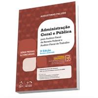 Livro Serie Provas & Concursos Administracao Geral e Publica AFR