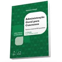 Livro Serie Provas & Concursos Administracao Geral para Concursos