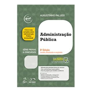 Livro - Série Provas & Concursos - Administração Pública - Paludo