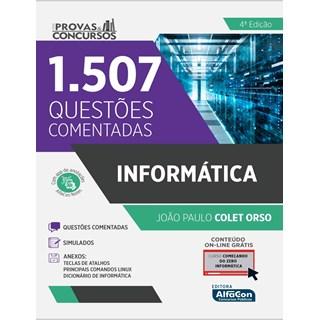 Livro Série Provas & Concursos Informática 4ª Edição - Alfacon