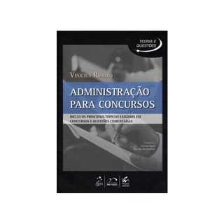 Livro - Série Teoria e Questões - Administração para Concursos - Ribeiro