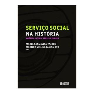Livro - Serviço Social na História: - / Maria Carmelita Yazbek/ Marilda Villela Iamamoto 1º edição