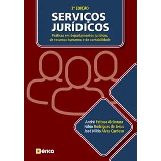 Livro - Serviços Jurídicos - Alcântara - Érica