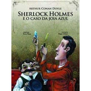 Livro - Sherlock Holmes e o Caso da Joia Azul - Conan - Panda Books