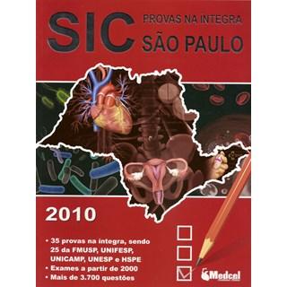 Livro - Sic Provas Na Íntegra São Paulo 2010 ***