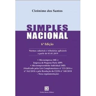 Livro - Simples Nacional - Santos