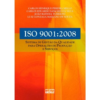 Livro - Sistema de Gestão da Qualidade para Operações de Produção e Serviços - Mello