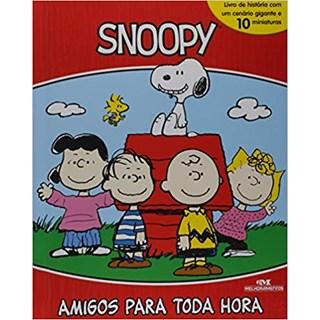 Livro - Snoopy: Amigos Para Toda a Hora - Inclui Miniaturas