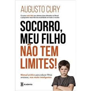 Livro - Socorro, meu Filho Não tem Limites - Augusto Cury