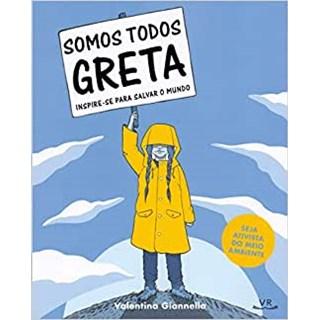 Livro - Somos todos Greta - Giannella 1º edição