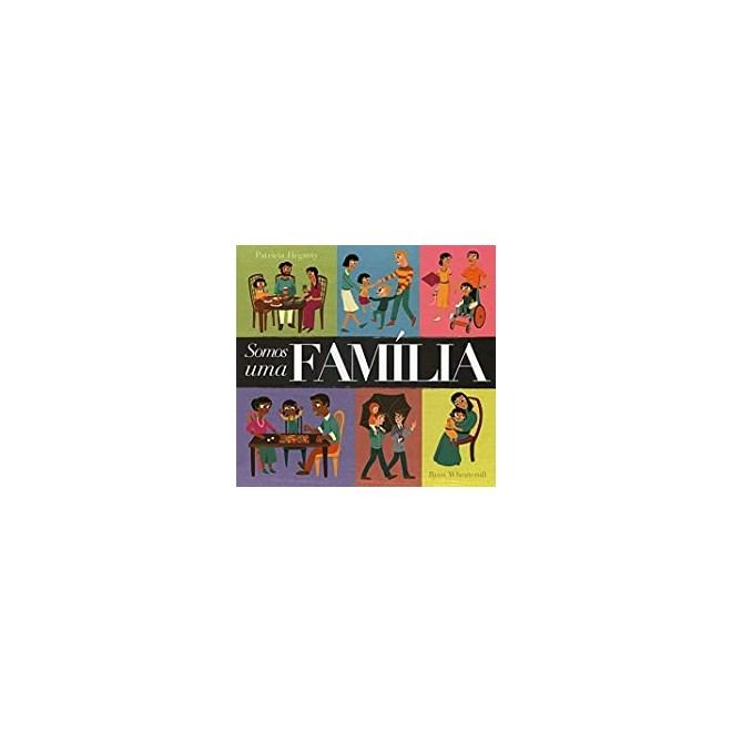 Livro - Somos Uma Família -  Litle tiger