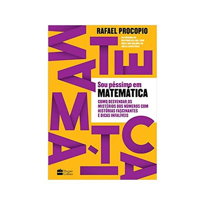 Livro - Sou Péssimo em Matemática - Procópio