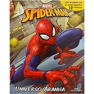 Livro - Spider Man: Universo Aranha - Livro + Cenário + Miniaturas