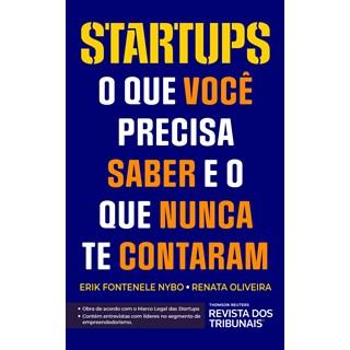 Livro Startups - Nybo - Revista dos Tribunais