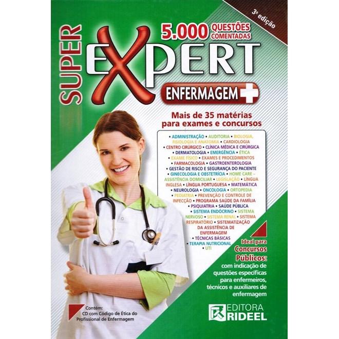 Livro - Super Expert Enfermagem 5000 Questões Comentadas#