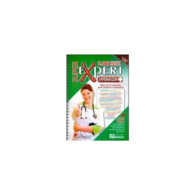 Livro - Super Expert Enfermagem 5000 Questões Comentadas