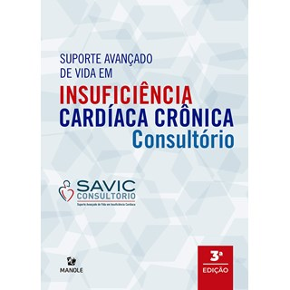 Livro Suporte Avançado de Vida em Insuficiência Cardíaca Crônica - Nazima - Manole