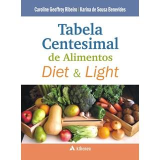 Livro - Tabela Centesimal de Alimentos Diet e Light - Ribeiro