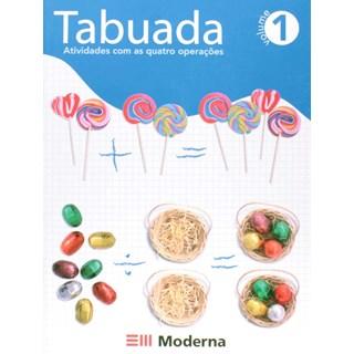 Livro Tabuada 1 - Moderna