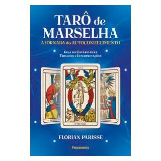 Livro - Tarô de Marselha: A jornada do autoconhecimento - Parisse 1º edição