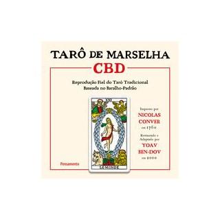 Livro - Tarô de Marselha CBD - Ben-Dov 1º edição