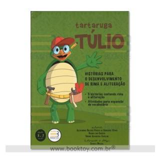 Livro - Tartaruga Túlio: Histórias Para o Desenvolvimento de Rima e Aliteração - Cesar